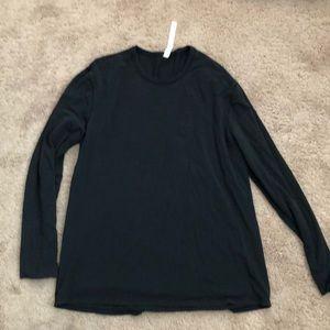 5 Year Basic Long Sleeve Shirt Black XL Lululemon